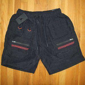 Jordan 23 Engineered Utility Shorts Mens M L Black